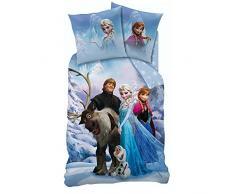 Disney Reina de Hielo Frozen - Ropa de cama infantil - Linón 135/200cm