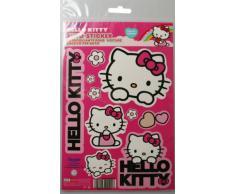 Hello Kitty – Kaufmann Neuheiten hk-kfz-101 Juego de pegatinas