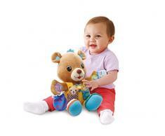 VTech Baby - Oso Lolo, peluche interactivo, color azul (3480-190922)
