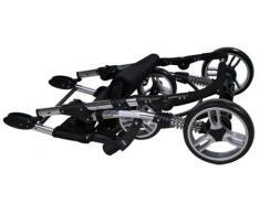 Carrito convertible con capazo y silla de coche ARTI Comfort B503 3w1 Blue