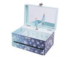 Trousselier - Caja de joyería con música y diseño de Elsa Frozen (TROUS60430)