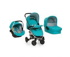 Hauck 17283 - Miami 4 trio set - petróleo/gris - pack carrito para bebés