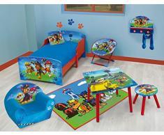 Fun House 712593 Pat vigilancia Mesa cuadrada infantil madera DM, 50 x 50 x 44 cm