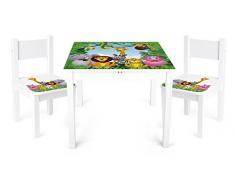 New New Mesa y sillas para niños, 2 Sillas 1 Mesa. Animales de la selva