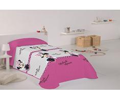 Disney Minnie - Colcha para cama de 90 cm