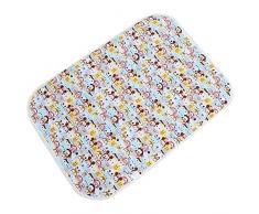 Almohadilla Para Pañales Linda Impermeable Respirable Recién Nacido Colchón Orina Infantil Niños Ropa De Cama(#1)
