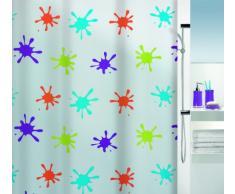 Spirella 10.16133 - Cortina de ducha de vinilo (180 x 200 cm), multicolor