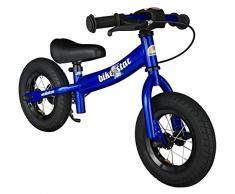 BIKESTAR® Premium 25.4cm (10 pulgada) Bicicleta sin pedales para niños de 2 años ★ Edición Sport ★ Azul