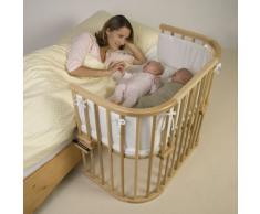 Babybay - 165101 - Cuna de colecho (colchón y fijaciones incluidos), color madera natural [Importado de Alemania]