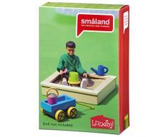 Lundby 60.5096.00 - Juntas Caja de Arena, Mini muñeca con Accesorios