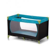 Hauck 604489 Dream'n Play - Cuna de viaje (60 x 120 cm), color amarillo y azul