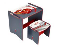 Cars 461CSR - Mi primer escritorio con taburete, color rojo