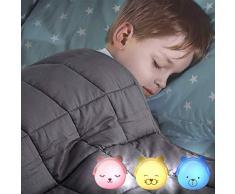 Brunoko luz nocturna infantil enchufe con Sensor de Luz Automático - luz quitamiedos infantil enchufe Pared - luz bebe para Habitación Bebé, Pasillos y Baño - Set de 3 Ositos - Diseñado en España