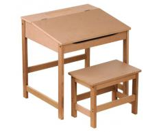 Escritorio infantil compra escritorios infantiles online - Pupitre infantil madera ...