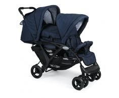 CHIC 4 Baby 274 52 Carrito Duo, Jeans Marina, color azul