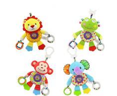 Cochecito de asiento de coche de juguete para niños Cama de bebé cuna Cuna colgante colgante musical colgante de juguete (León)