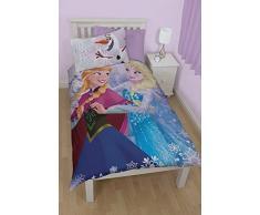 Disney Frozen Kristall - Juego de ropa de cama individual
