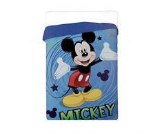 Colcha Invierno Bebé Disney Mickey edredón 180 x 260 cm con relleno 320 gr/m²