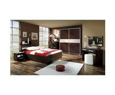 JUSThome Fokus II Conjunto dormitorio habitación de matrimonio Color Wengué Roble