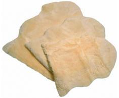 Roku / 00 364 Otto - Forro/ manta de piel para cuna o cochecito, piel de cordero la forma natural,(70 x 90 cm)