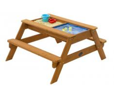 Plum- Surfside, Mesa de Picnic Infantil con Piscina, Color Natural (25078)