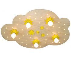 Lámpara de techo 5-focosnube de estrellas