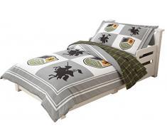 KidKraft 77007 - Ropa de cama infantil, estilo medieval
