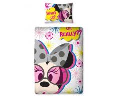 Original Minnie Disney Mickey Mouse funda nórdica reversible 135x200 Shopaholic Panel Juego de cama SELLADA 2en1 Diseño 2012