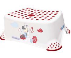 Taburete con Peldaño antideslizante para niños MINNIE de OKT, color: blanco