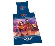 Herding Juego de Cama de Disney s Coco, algodón, Multicolor, 200x 135cm