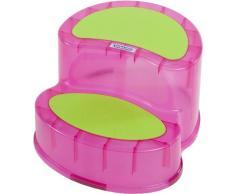 Bieco - Taburete para niños. rosa rosa