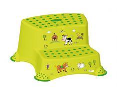 Amigos felices - Taburete A dos pasos de los niños Exposición de motivos: Granja, color verde