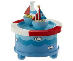 Music Box World 43804 - Caja de música con diseño de veleros
