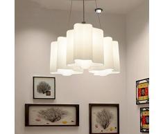 personalidad creativa nube de la lámpara/ araña de comedor de cocina en el comedor/Mesa pequeña habitación apaga la luz de la habitación-B