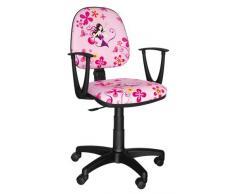 Best For Kids IDIMEX mesa silla infantil de giratoria Super 4 Diseño Princess Girl Lady Arabella
