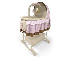 Cuna mecedora - Baby Cradle MILLY MALLY Sweet Melody 4w1 Pink - Rocking Crib - Baby Swinging Crib - Baby Cradle Bed