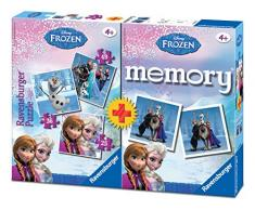 Frozen - Pack Memory y puzzle triple (Ravensburger 22311 4)