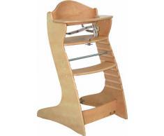 Roba 7547 - Trona ajustable de madera [Importado de Alemania]