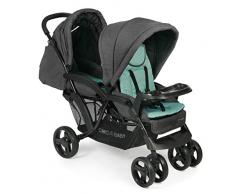 CHIC 4 BABY 273 65 Doppio - Carrito convertible, color verde menta