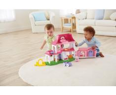 Fisher-Price Little People Happy Sounds - Casa de muñecas con sonido