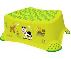 OKT Kids 18642274063 - Taburete escalón para niños, diseño de granja, color verde
