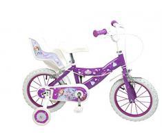 """Princesa Sofía - Bicicleta para niña, 14"""" (Toimsa 644)"""