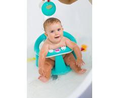OK BABY Flipper Asiento de baño bañera Asiento de baño silla de baño ayuda Baby Asiento, color rosa
