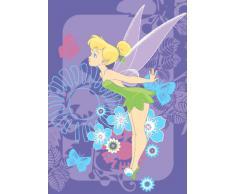 Disney Juego de alfombras / tapetes para niños / Disney Fairies Campanilla tropical Alfombra Alfombra tiempo 95 x 133 cm / expedición es cerca de 1-2 días laborables