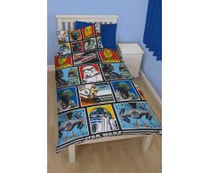 Disney Star Wars - Juego de ropa de cama edredón individual rotatorio