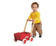 Brio 31370 Juguete de Arrastre Rojo Madera - Juguetes de Arrastre (Rojo, Madera, 18 Mes(es), Child, Niño/niña, 4 Rueda(s))