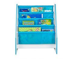 Hello Home 470DIE - Estantería infantil con diseño dinosaurio, color blanco y azul