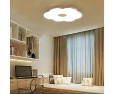 SUNA Lámpara De Techo De La Habitación Del Dormitorio De Los Niños, Lámpara De Sala De Estar Moderna Y Moderna En Forma De Nube Led Led Para La Sala