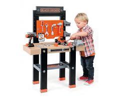 Smoby - Black + Decker banco herramientas de juguete para niños (360701)