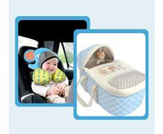 Cuna de viaje Portátil para dormir Cesta de almacenamiento multifuncional Cuna plegable adecuada para bebés de 0 a 12 meses (color : Azul)